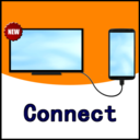 Icon for USB Connector phone to Smart TV