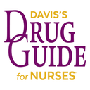 Icon for Davis's Drug Guide for Nurses