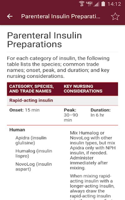 Nurse's Drug Handbook screenshot 8