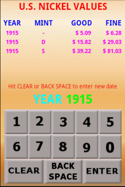 U.S. Coin Values screenshot 7