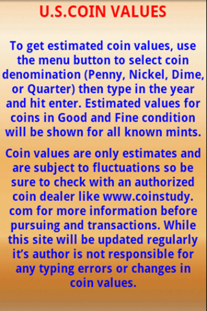 U.S. Coin Values screenshot 9