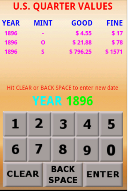 U.S. Coin Values screenshot 12