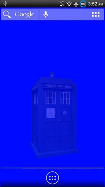 Animated TARDIS Widget screenshot 2