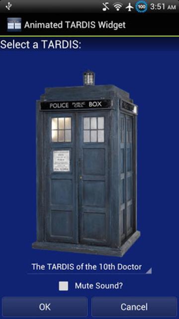 Animated TARDIS Widget screenshot 3
