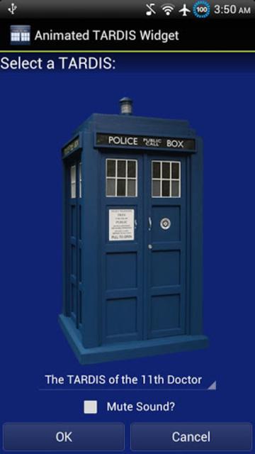Animated TARDIS Widget screenshot 4
