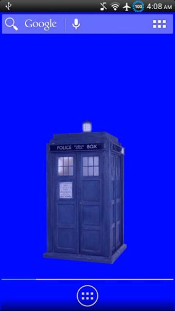 Animated TARDIS Widget screenshot 5