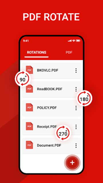Rotate PDF screenshot 1