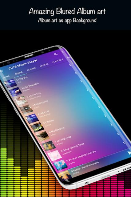Music Player 2019 screenshot 9