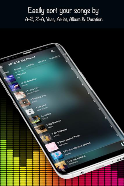 Music Player 2019 screenshot 10