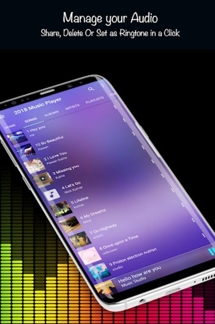 Music Player 2019 screenshot 12