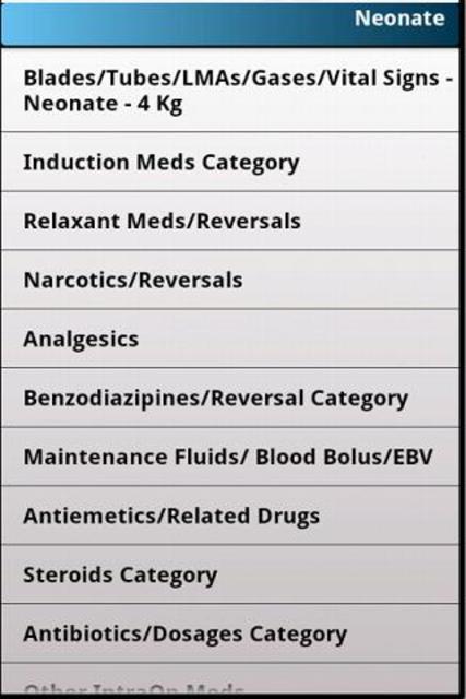 Pedi Anesthesia screenshot 4