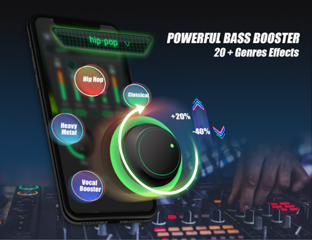 Equalizer Sound Booster - VAVA EQ Music Bass Boost screenshot 2