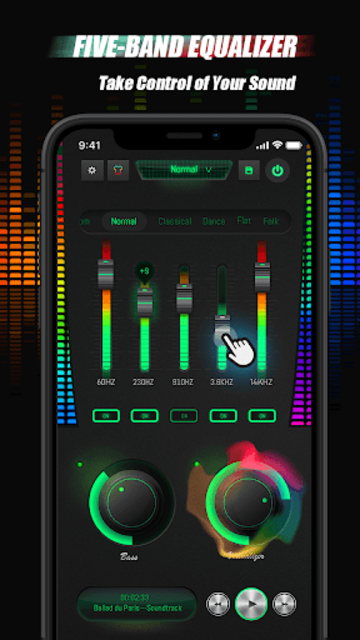 Equalizer Sound Booster - VAVA EQ Music Bass Boost screenshot 4
