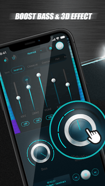 Equalizer Sound Booster - VAVA EQ Music Bass Boost screenshot 5