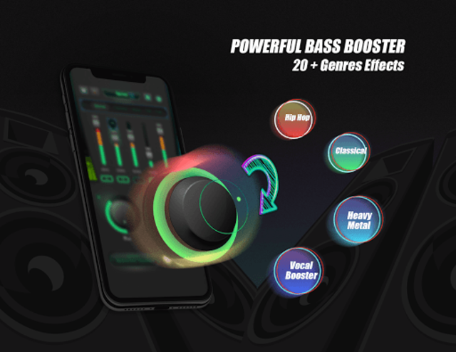 Equalizer Sound Booster - VAVA EQ Music Bass Boost screenshot 8