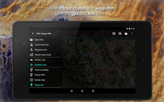 GPX Viewer PRO - Tracks, Routes & Waypoints screenshot 9