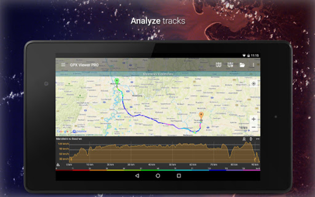 GPX Viewer PRO - Tracks, Routes & Waypoints screenshot 21