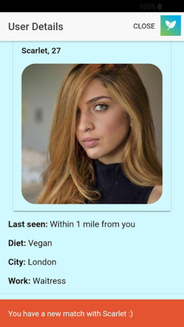 Veggly – Vegan and Vegetarian Dating screenshot 7