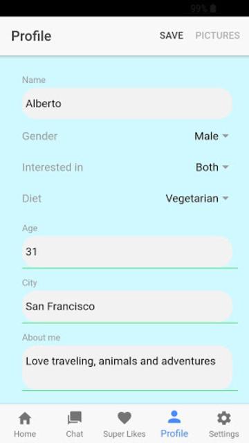 Veggly – Vegan and Vegetarian Dating screenshot 8