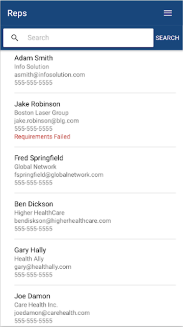Vendormate Credentialing screenshot 6