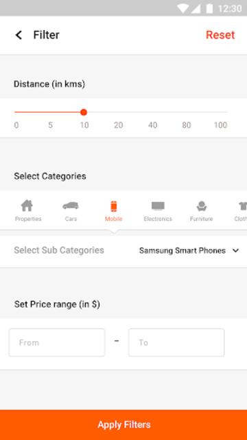 Sellyard - Template screenshot 1