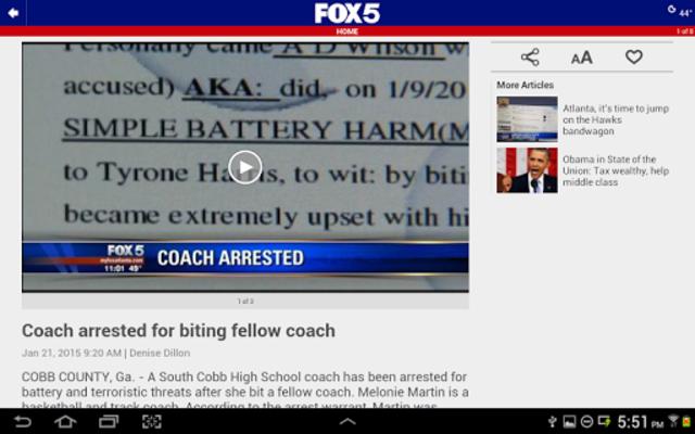 FOX 5 Atlanta screenshot 7
