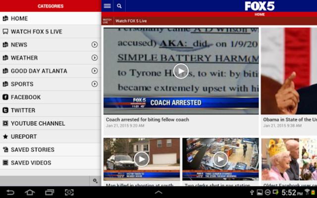FOX 5 Atlanta screenshot 8