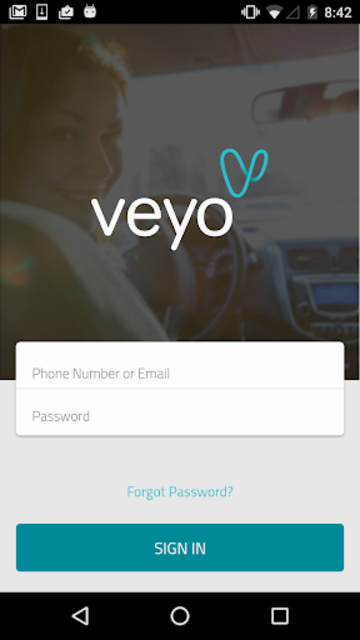 Veyo Driver screenshot 1