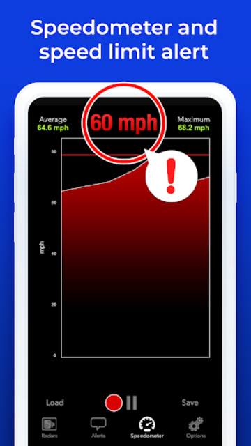 Radarbot Pro: Speed Camera Detector & Speedometer screenshot 5