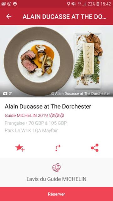 MICHELIN Guide Europe 2019 screenshot 4
