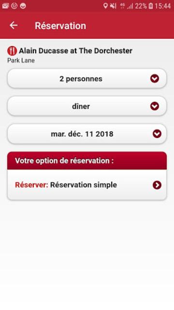MICHELIN Guide Europe 2019 screenshot 5