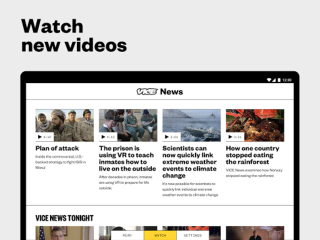 VICE News screenshot 9