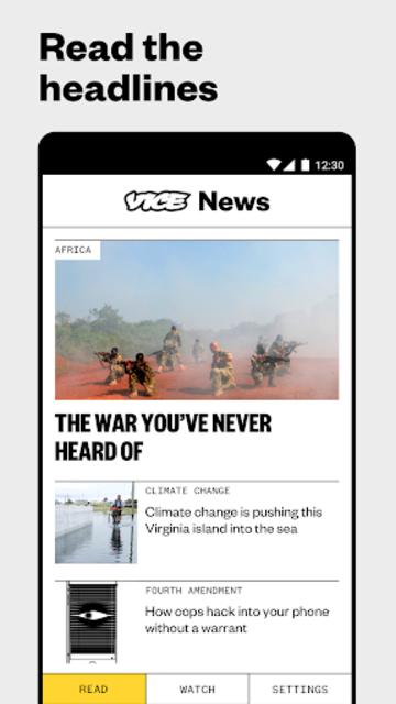 VICE News screenshot 1