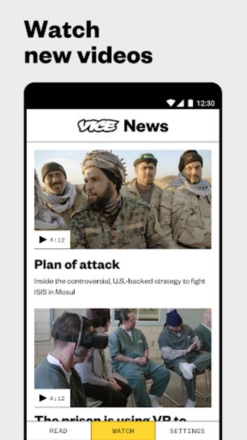 VICE News screenshot 3