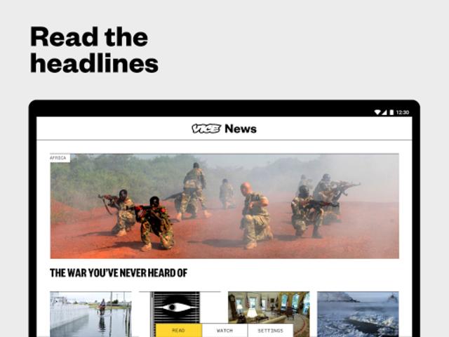 VICE News screenshot 4