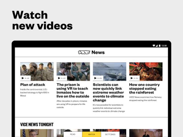 VICE News screenshot 6