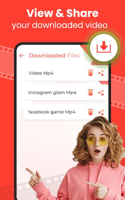Video Downloader 2021 - Free HD Video Downloader screenshot 3
