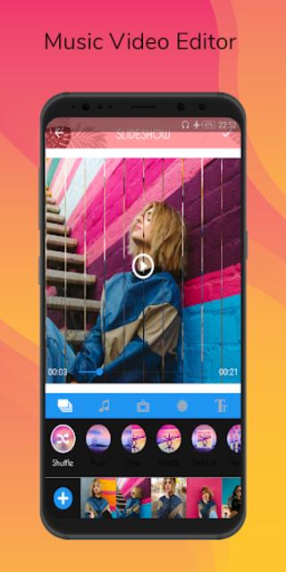 Video Maker - Video Editor With Music screenshot 1