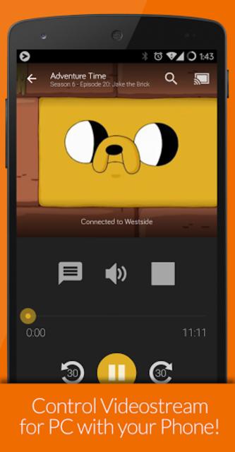Videostream Chromecast: Mobile screenshot 3