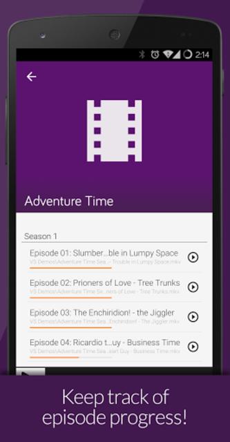 Videostream Chromecast: Mobile screenshot 6