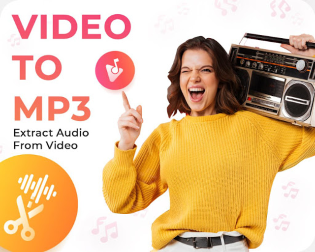 Video to Mp3 Converter - Audio Cutter & Merger screenshot 1