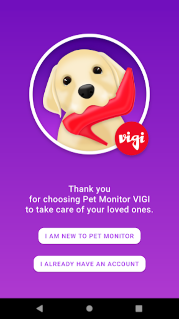Pet Monitor VIGI screenshot 3