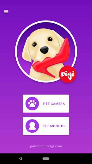 Pet Monitor VIGI screenshot 2