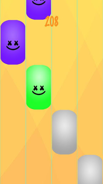 New DJ Marshmello Piano Tiles 2™ screenshot 4
