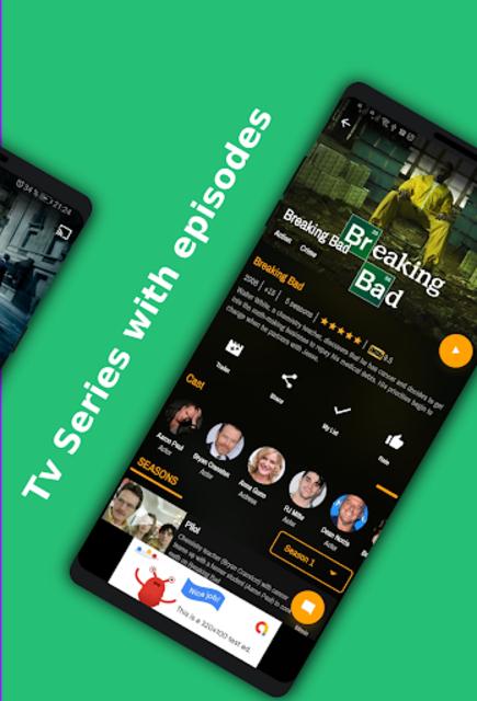 Movies App / Tv Seris / Live Channel - Demo app . screenshot 2