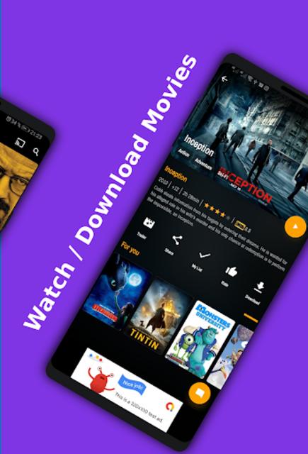 Movies App / Tv Seris / Live Channel - Demo app . screenshot 3