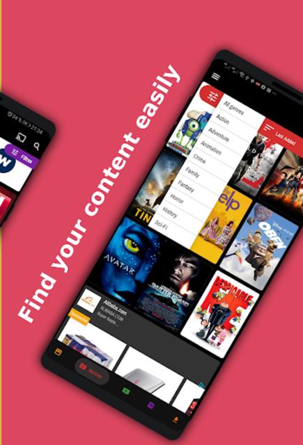 Movies App / Tv Seris / Live Channel - Demo app . screenshot 5