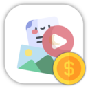 Icon for Status Video/Image/Gif/Quote - Earning System