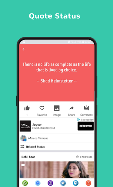 Status Video/Image/Gif/Quote - Earning System screenshot 4