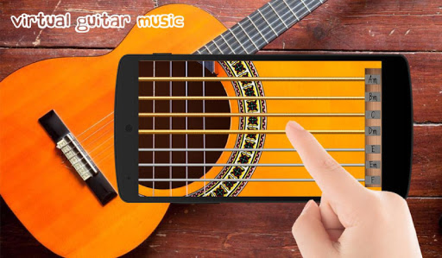 Virtual Guitar Music screenshot 5